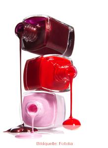 Dekorative Fußpflege Farbe