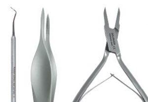 SÜDA Fißpflege Zangen und Instrumente
