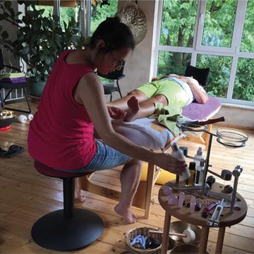 Klangschalen in Fußpflege und Podologie
